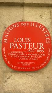 Louis Pasteur, Dole